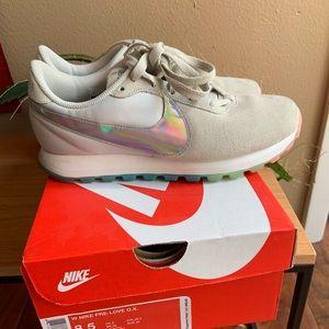 Nike Pre-Love O.X. Rainbow Suede Sneakers